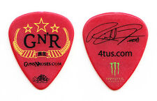 Guns N' Roses Richard Fortus Signature Red Guitar Pick - 2012 Tour GNR