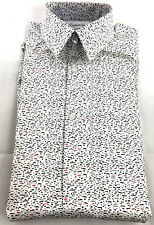 Calvin Klein X Men's Extra-Slim Fit Thermal Stretch Dress Shirt 14-14.5 S 32/33