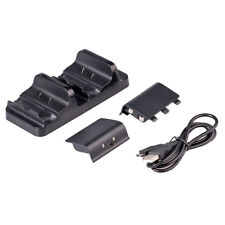 Dual Dock Chargeur Station pour Manette Xbox One / Slim Joy-stick + 2 Batteries