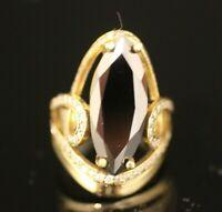 Turkish Handmade Sterling Silver 925 Jewelry Onyx Ladies Ring 7 8 9