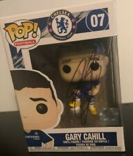 More details for gary cahill  -  hand signed funko pop  --  chelsea fc  --  autographed