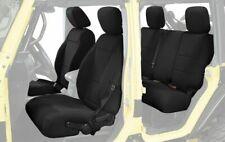 King 4WD Neoprene Seat Cover JK 4 Door 2013-2018 for Jeep Wrangler Unlimited