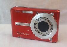 Casio EXILIM EX-S600 6.0MP Digital Camera - red