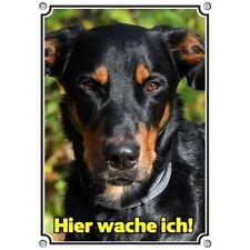 Hundeschild - Beauceron - wetterfestes Metallschild - Warnschild Berger