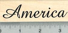 America Rubber Stamp, Script H32012 WM
