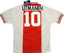 Litmanen Ajax Umbro Home UEFA champions League Final 1995-96 shirt jersey *NEW*