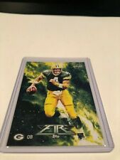 2014 Topps Fire Football Brett Favre Green Bay Packers base card #54