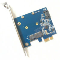 mSATA3.0 SATA 3.0 to PCI-e HDD/SSD Adapter mSATA PCI express converter Card
