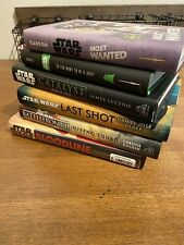 star wars hardcover book lot