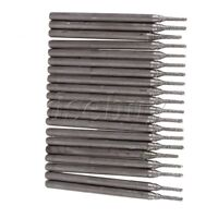 20pcs Lapidary Diamond Coated Hole Drill Solid Bits Needle Gems Tile 1mm