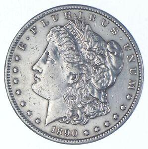 Early - 1890-S Morgan Silver Dollar - 90% US Coin *606