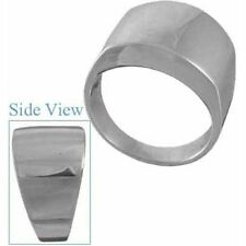Unbranded Band Sterling Silver Rings for Men
