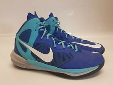 Nike Prime Hype DF Trainers Basketball Boots Blue Size 9.5 UK 44.5 EUR