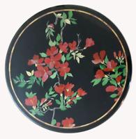 "24"" marble table top carnelian inlay art Handicraft marquetry room Home decor"