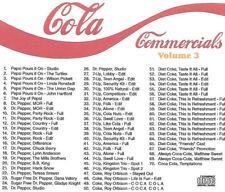 Cola Radio Commercials - LIKE NEW CD - Volume 3