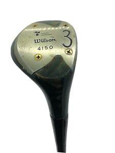 """Vintage-Wilson 4150 """"Beth Daniel"""" #3 Fairway Wood-Steel Shaft-Right Handed"""