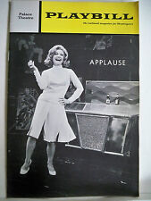 APPLAUSE Playbill ANN BAXTER / PENNY FULLER / LEE ROY REAMS NYC 1971