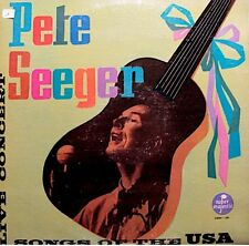 ++PETE SEEGER songs of the usa LIVE CONCERT LP 1972 VOX PROD east virginia VG++