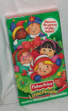 FISHER PRICE LITTLE PEPOLE VHS VOLUME VOL 2 CHRISTMAS DISCOVERIES X MAS TAPE NEW
