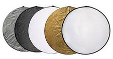 """Pro 60cm 24""""  5 in 1 Light Mulit Collapsible Reflector"""