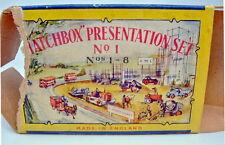 "Matchbox ""Presentation Set No.1"" USA 1957 komplett, extrem selten"