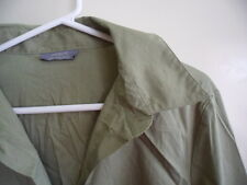 BRAND NEW JACQUI-E WOMENS LONG SLEEVE COLLARED SHIRT BLOUSE SIZE 18 GREEN