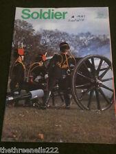 """SOLDIER - JAN 1981 - KINGS TROOP RHA - ONE """"O"""" CLOCK GUN"""