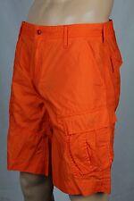 Polo Ralph Lauren Orange Cargo Cotton Shorts 29 NWT