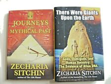 Zecharia Sitchin--Lot of 2 Books JOURNEYS TO MYTHICAL PAST THERE WERE GIANTS