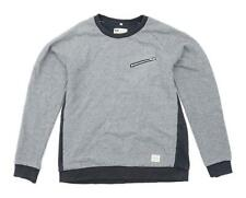 Weekend Offender Mens Size S Cotton Grey Sweatshirt