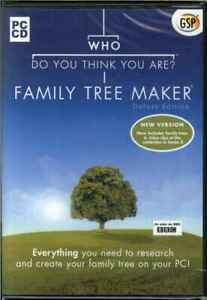 Who Do You Think You Are? Deluxe V3, Create Your Family Tree Maker PC, NEW