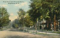 BINGHAMTON NY - Front Street and Riverside Drive