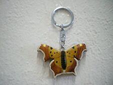 """Schlüsselanhänger """"Schmetterling"""" (Holz) / Keychain """"Butterfly"""" (Wood)"""