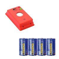 MARDERfix - Akustik Batterie - inklusive 4 Heitech Baby/C Batterien - Set Marder