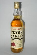 WHISKY PETER MARTIN BLENDED FINEST SCOTCH WHISKY  AÑOS 70 70cl
