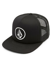 Volcom Full Front Mens Trucker Cap in Black