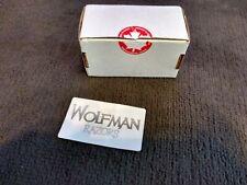 Original Wolfman Razors leere Box/Verpackung
