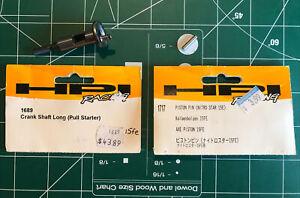 HPI Racing 1689 Crank Shaft (Pull Starter) 1717 Piston Pin .15FE NEW OPEN BAG