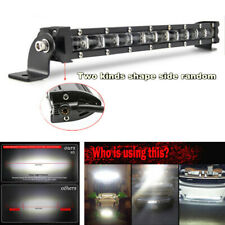 Waterproof 120W 12000LM Spot Beam Slim LED Work Light Bar For Car SUV Off Road