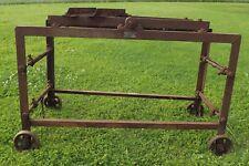 Vintage 'Beconwat' Adjustable Engine Stand Bush Engineering - Needs Re-Purposing