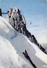 France Chamonix Mont Blanc Telepherique l'Aiguille du Midi.
