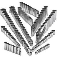 Craftsman 142 Piece 12 pt Socket Set Deep & Std 1/4 3/8 1/2 Dr SAE MM EASY READ