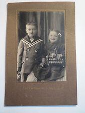 Schönau b. H. - Adam Phih. & Katharina Vögele als Kinder - Portrait / KAB