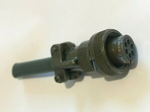 MS3106E14S-6S 6 POLE MILITARY FEMALE CABLE MOUNT CONNECTOR                ad1f25