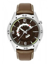 TIMEX Classy Analog Brown Strap Sports Watch for Mens TW000U910