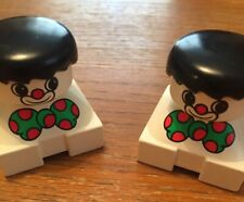 Lego Duplo clown heads s x 2,  genuine Duplo