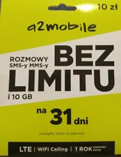 """Polish SIMCARD from network """"a2mobile"""" 3in1 (standard-micro-nano)"""