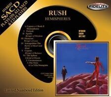 Rush Hemispheres Hybrid-SACD Audio Fidelity NEU OVP Sealed Limited Edition