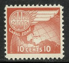 U.S. Possession Canal Zone Airmail stamp scott c23 - 10 cent issue - mnh - #3