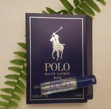 NEW! POLO BLUE PARFUM FOR MEN BY RALPH LAUREN! Travel-sized sample .05fl oz.
